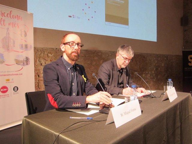 Miquel Forns y Agustí Colom