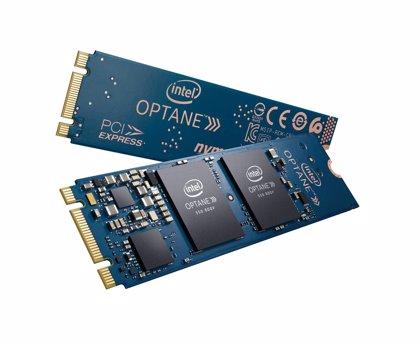 Intel presenta la unidad SSD Intel Optane 800P, que agiliza el arranque de ordenadores