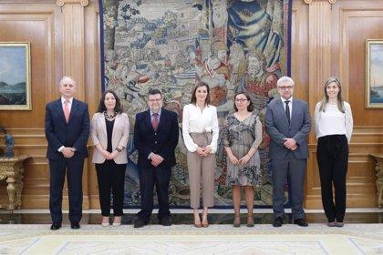 El grupo de investigación GETHI se reúne con la Reina Letizia