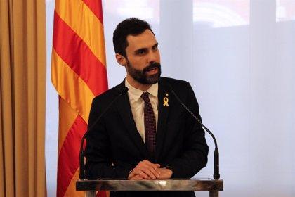 """Torrent agotará """"todas las vías"""" y llevará la investidura de Jordi Sànchez a Estrasburgo"""