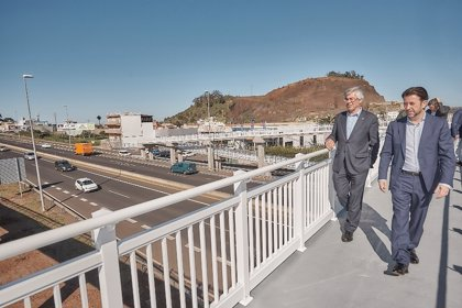 El Cabildo de Tenerife concluye la construcción de la pasarela de Los Naranjeros tras una inversión de 550.000 euros