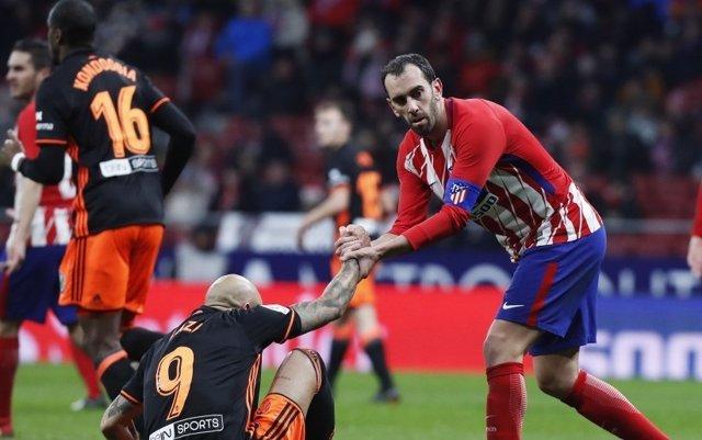 Godín, Atlético de Madrid