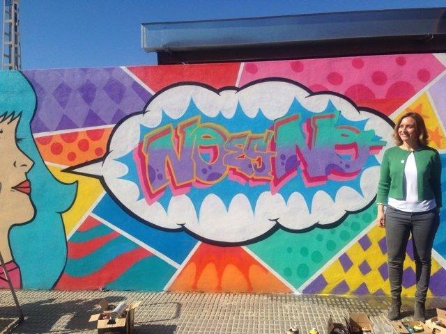 Conchita Ruiz presenta el grafiti
