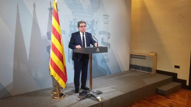 El delegado del Gobierno en Catalunya, Enric Millo