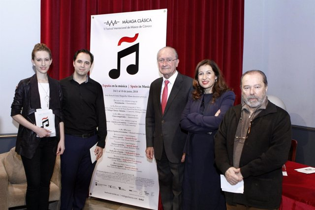 Presentación festival Málaga Clásica
