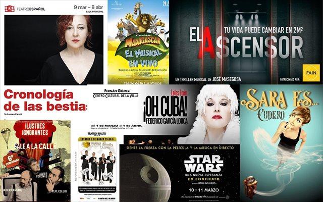 Musicales, monólogos y obras para disfrutar del mejor teatro en marzo