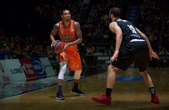 Green en el Bilbao Basket - Valencia Basket