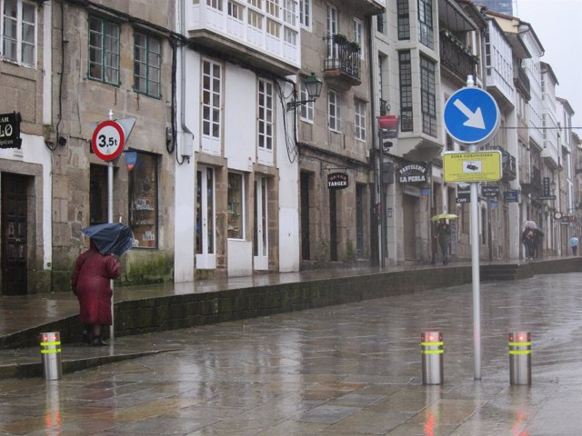 Temporal Galicia, viento, lluvia, mal tiempo