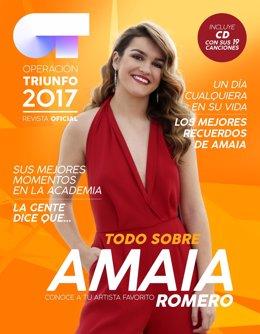 CD y revista de Amaia Romero.