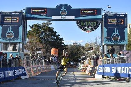 Roglic gana la tercera etapa de la Tirreno-Adriático y Thomas se pone líder