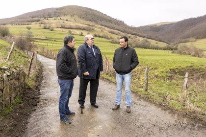 Inaugurada la rehabilitación de dos caminos en San Miguel de Aguayo