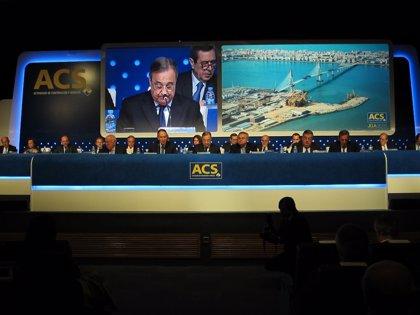 ACS acumula una ganancia del 11% en Bolsa tras reconocer negociaciones con Atlantia sobre Abertis