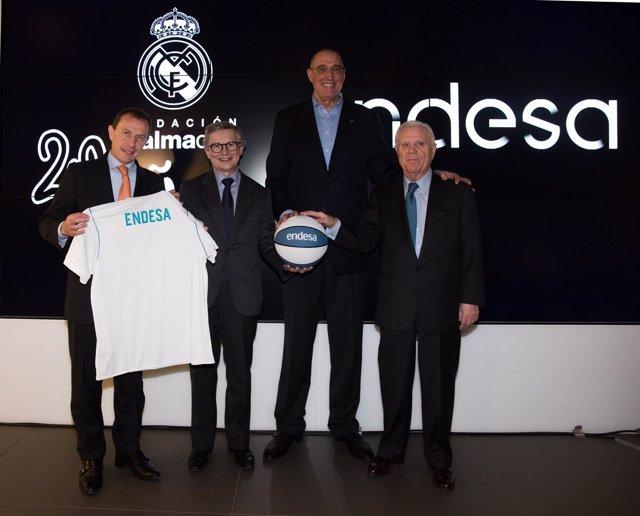 Colaboración Endesa - Fundación Real Madrid