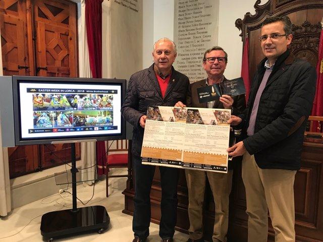 Concejal de Turismo en el Ayuntamiento Lorca, Francisco Montiel EN PRESENTACIÓN