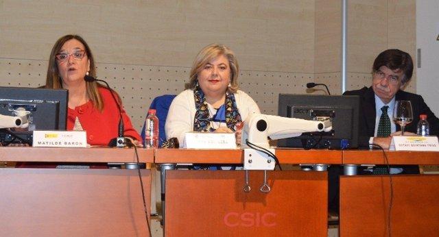 Clara Aguilera presenta el programa Prima en la Estación Experimental Zaidín
