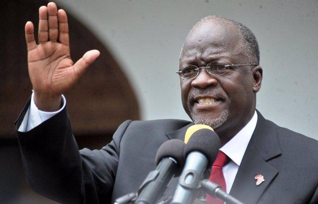 El presidente de Tanzania, John Magulufi