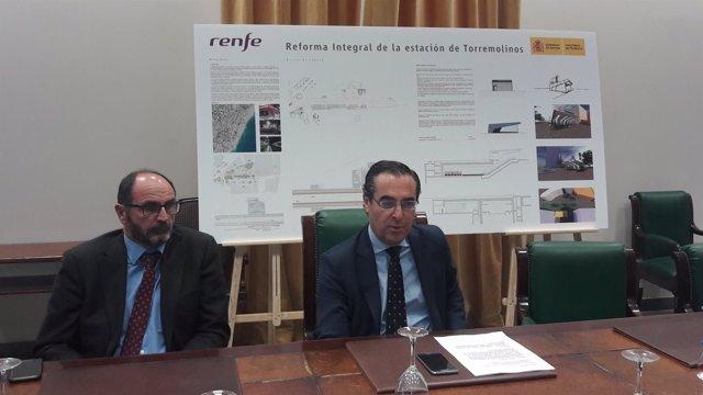 Miguel Briones reunión Renfe La Nogalera Torremolinos