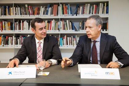 El MAC y La Caixa impulsan nuevos proyectos de apoyo social en las instalaciones del museo