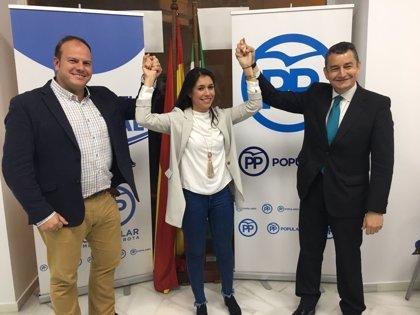 """Sanz: """"Hoy elegimos a Auxiliadora Izquierdo como la próxima alcaldesa de Rota (Cádiz)"""""""