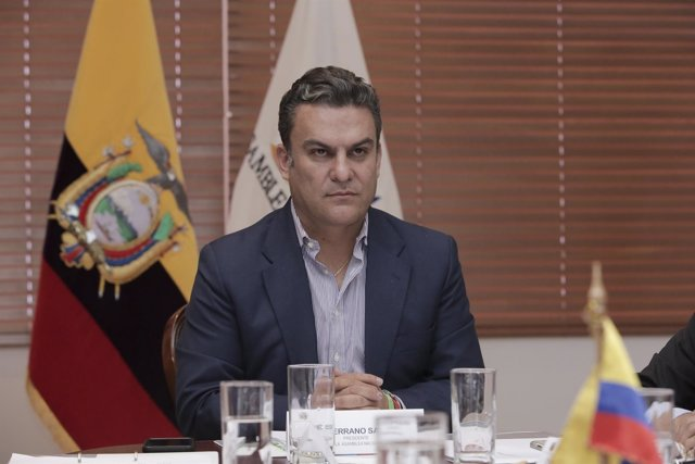 El presidente de la Asamblea Nacional de Ecuador, José Serrano