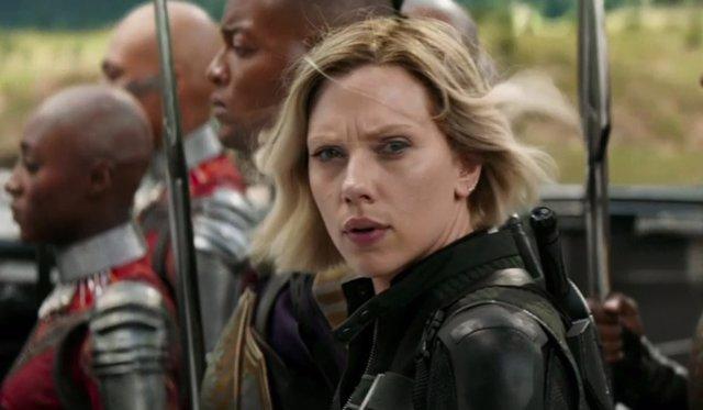 Viuda Negra en Vengadores: Infinity War