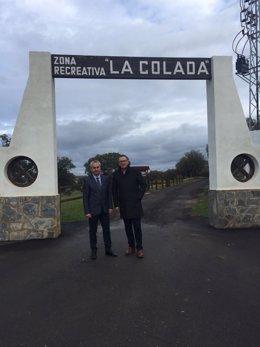 Zona recreativa La Colada en El Viso (Córdoba)