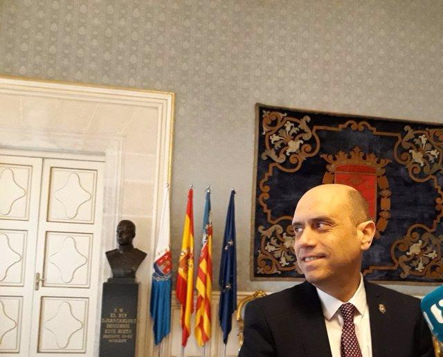 El alcalde de Alicante, Gabriel Echávarri, en una imagen de archivo