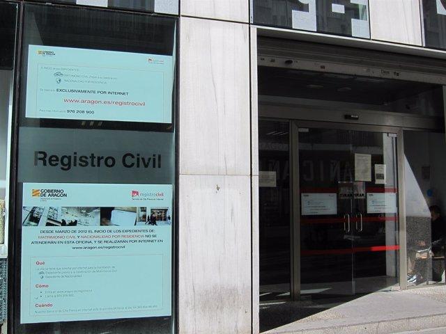 Registro Civil de Zaragoza
