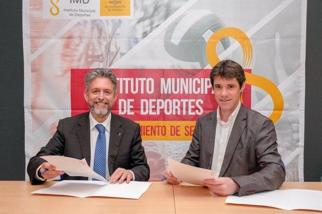 Juan Manuel Nieblas y David Guevara