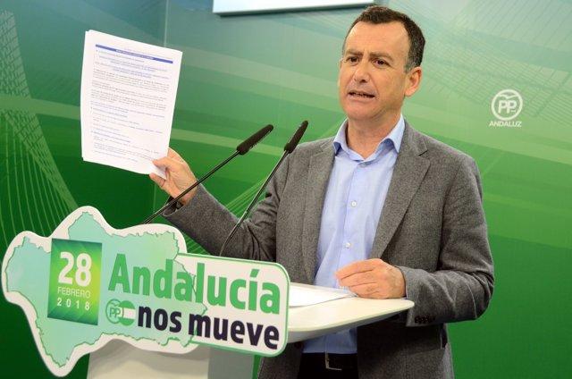[Comunicación Pp Andaluz] Nota, Audios Y Foto Pp Andaluz: Pablo Venzal