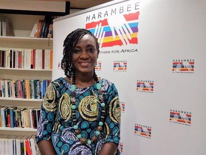 """La farmacéutica nigeriana Ebele Okoye, sobre los secuestros de Boko Haram: """"Las niñas tienen miedo de ir al colegio"""""""