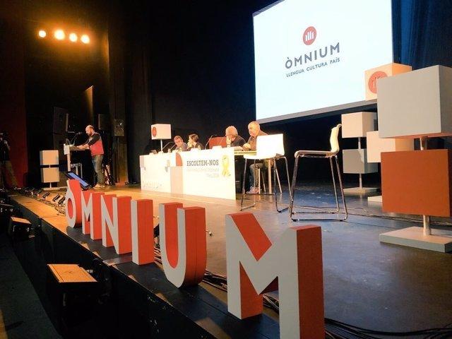 El vicepresidente de Òmnium Cultural, Marcel Mauri