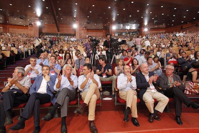 Los 5 líderes del PSOE desde la Transición
