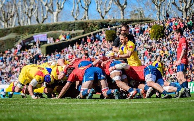 Selección española de rugby España Rumanía