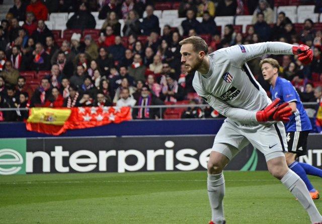 Jan Oblak, portero del Atlético de Madrid