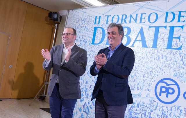 Miguel Tellado y Pedro Puy