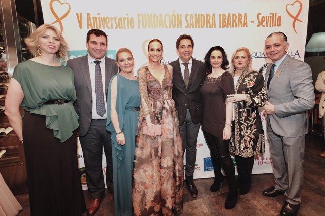 Gala Sevilla Solidaria de la Fundación Sandra Ibarra