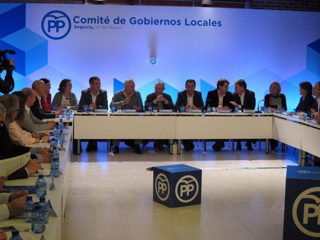 Encuentro PP en Segovia