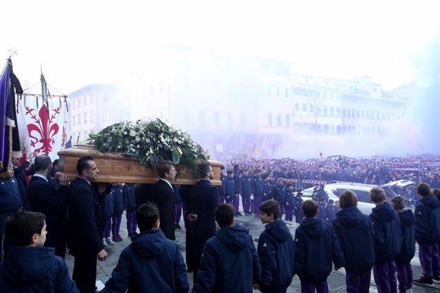 Funeral de Davide Astori en Florencia