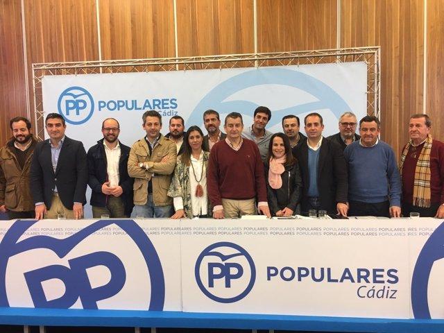 Comité Ejecutivo Provincial del PP de Cádiz