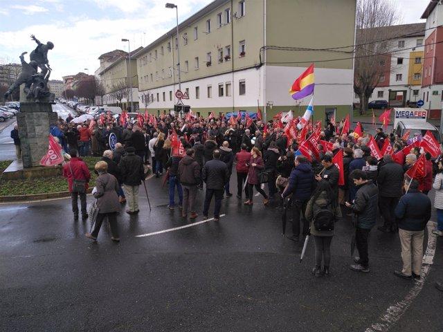 Manifestaciones en Ferrol con motivo del Día da Clase Obreira