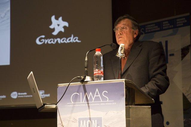 Joaquín Araújo, en el Congreso Internacional de las Montañas