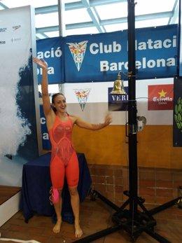 Lidón Muñoz, récord de España de 50 libre
