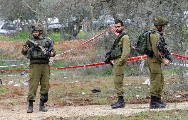 Varios militares isralíes en Cisjordania
