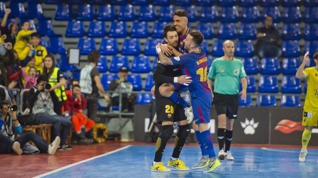 Paco Sedano, portero del FC Barcelona Lassa