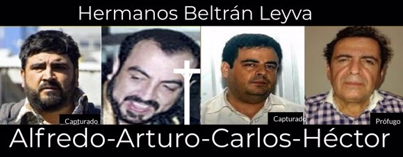 Los hermanos Beltran Leyva