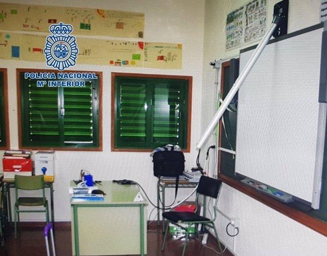 """Nota De Prensa:""""La Policía Nacional Esclarece El Robo De Material Informático Co"""