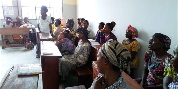 1. Las 500 embajadoras por la Paz de República del Congo para empoderar a las mujeres