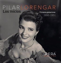 Portada CD Pilar Lorengar.