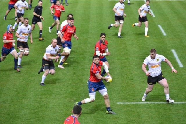 Selección española rugby España Alemania